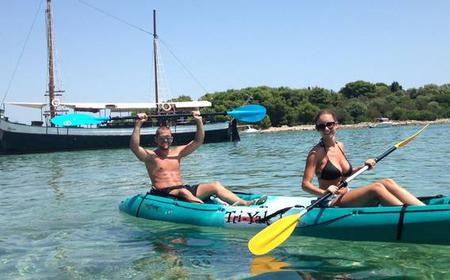 Blue Lagoon Sea Kayaking Day Trip from Trogir and Split