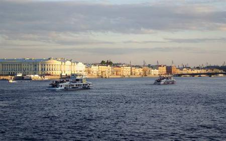 St. Petersburg: 1.5-Hour River & Canal Boat Cruise