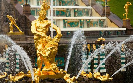 St. Petersburg: Peterhof Tour with Fountain Park