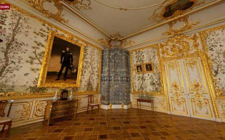 Catherine Palace and Amber Room in Pushkin