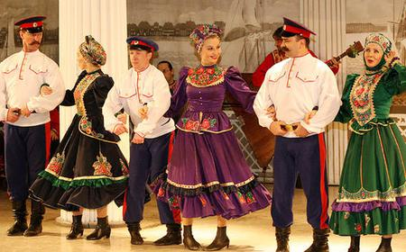 St. Petersburg: Russian Folk Show Evening Experience