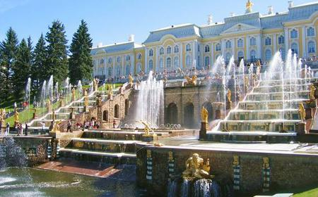 Peterhof Grand Palace & Lower Park: 5-Hour Tour by Car