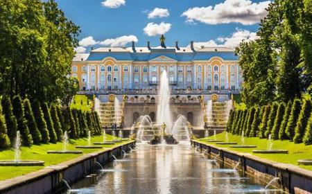 Peterhof Palace and Gardens Half-Day Tour