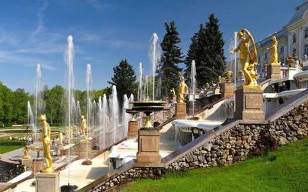 St. Petersburg: 5-Hour Peterhof Palace Fountains Tour