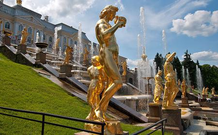 St. Petersburg: 3-Day Tour of Emperors' Residences