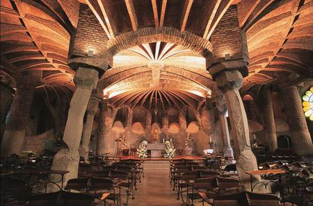Barcelona Day Trip: Montserrat, Colonia Guell and Gaudi Crypt