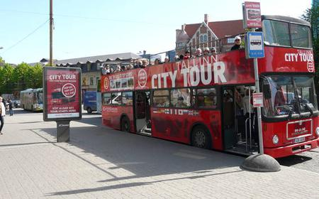 Tallinn Hop-on Hop-off City Bus Tour: 24-Hour Ticket