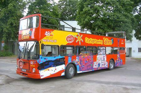 Tallinn Hop-on Hop-off Bus Tour