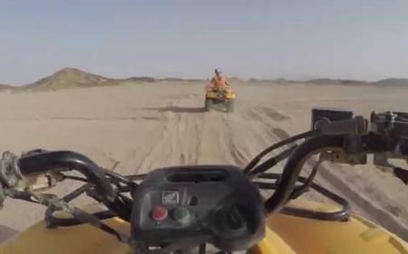 Quad Bike Desert Safari and Camel Ride in Hurghada