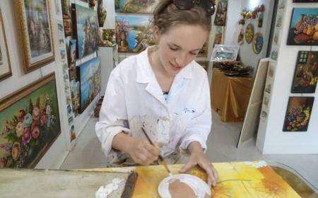 Taormina: Paint Class on Ceramic & Prosecco Tasting