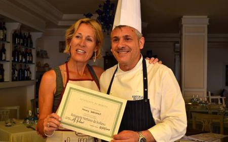Sicilian Cooking Class and Taormina Market Tour