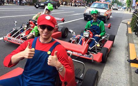 Explore Tokyo by Go-Kart from Akihabara