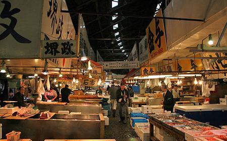 Tokyo: Walk & Taste Tsukiji Fish Market Morning Tour