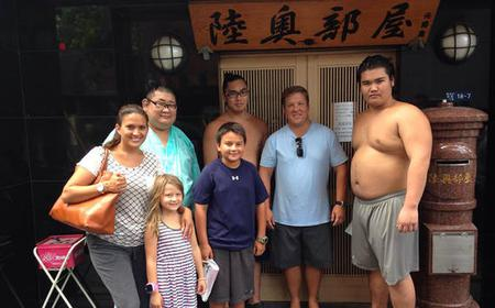 Asakusa & Ryogoku Walking Tour with Sumo Wrestler