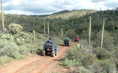 Box Canyon and Pinal Mountains Half-Day ATV Tour
