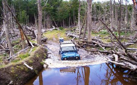 From Ushuaia: Lakes of Ushuaia 4WD Off-Road Canoe Adventure