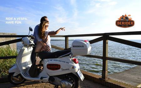 Valencia: Vespa LX 125 Scooter Rental - 1-3 Days
