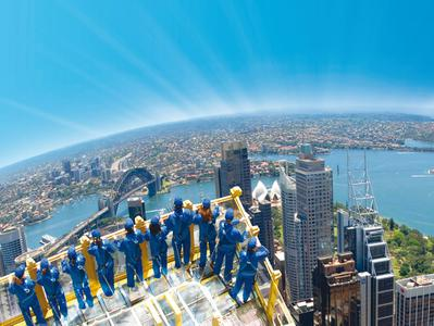 SKYWALK at the Sydney Tower Eye with 4D Experience
