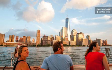 New York Champagne Sunset Sail Aboard a Schooner