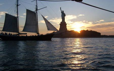 New York City Sunset Cruise: Sail Schooner Adirondack