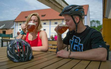 Bike Tour to Microbrewery and Karlstejn from Prague