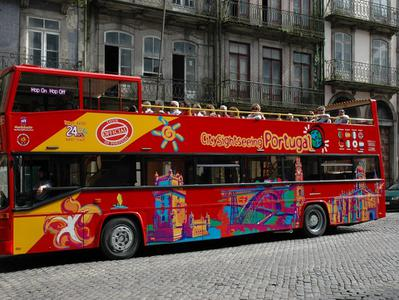 City Sightseeing Oporto Hop On Hop Off Tour