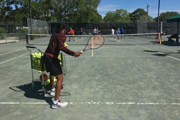 Cardio Tennis at the St. Petersburg Tennis Center