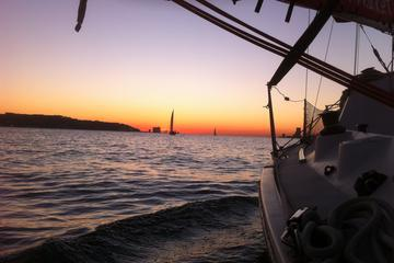 Lisbon Sunset Sensations Private Sailing Tour with Sparkling Wine