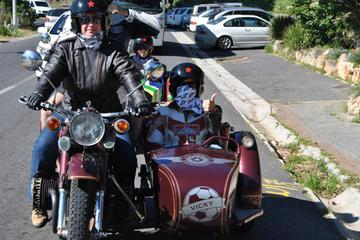 Vintage Sidecar Whale and Dolphin Route Experience from Cape Town