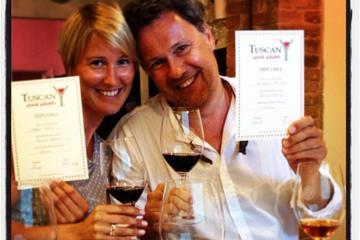 Siena Wine Tasting School Experience