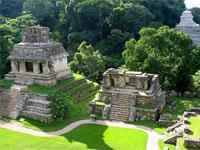 1 Day Trip to Palenque Ruins Agua Azul and Misol-Ha Waterfalls from Palenque