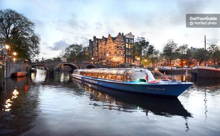 Amsterdam: 1-Hour Evening Canal Cruise
