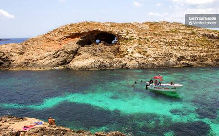 Full Day Cruise to Malta's Famous Blue Lagoon
