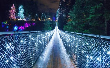 Vancouver & Capilano Suspension Bridge's Canyon Lights