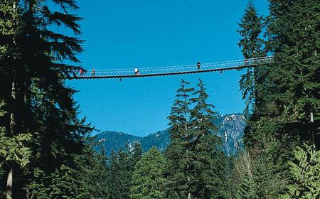 Grouse Mountain and Capilano Suspension Bridge