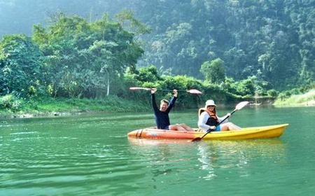 Vang Vieng Full-Day Kayak Tour: Caves of Nam Song River