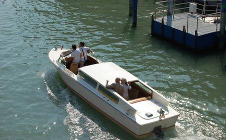 Venice Marco Polo Airport Shared Transfer by Water Taxi