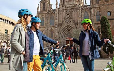 Historical E-Bike Tour through Barcelona's Main Sights