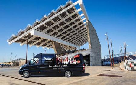 Barcelona: 4-Hour Luxury Minibus, Cable Car & Schooner Tour