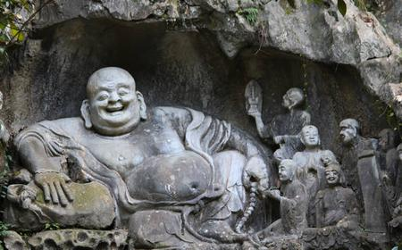 Tour to West Lake, Linyin Temple and Dragon Village