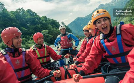 Bled: Water Rafting on the Sava River
