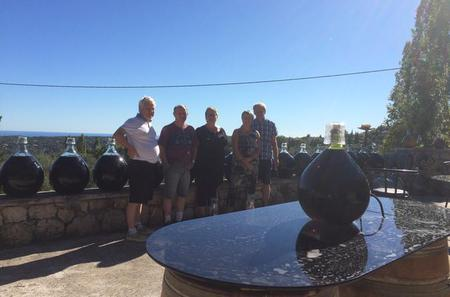 Private Tour of Saint-Jeannet and Saint-Paul-de-Vence with Wine Tasting from Monaco