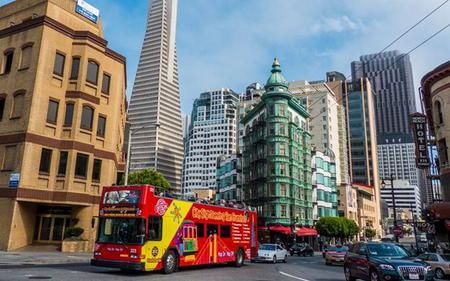 City Sightseeing San Francisco Hop-On, Hop-Off: 48-hour All Loops Ticket with Night Tour