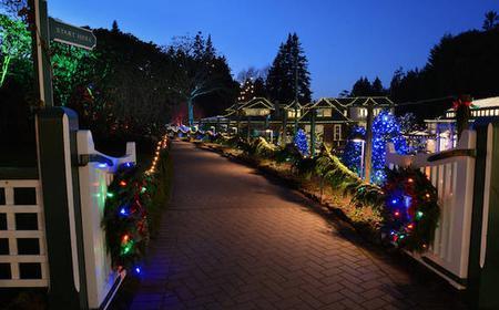 The Butchart Gardens Holiday Lights Tour