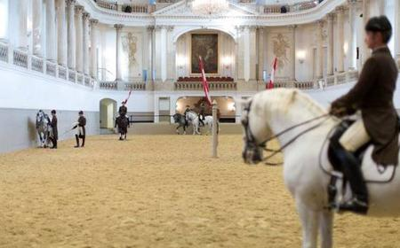 Vienna: Spanish Riding School 2-Hour Morning Exercise