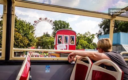 Vienna: Hop-on Hop-off Sightseeing Bus Ticket