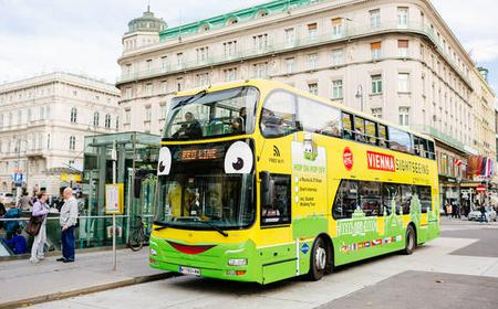 Vienna: Hop-On Hop-Off Tour with Guided Walking Tour
