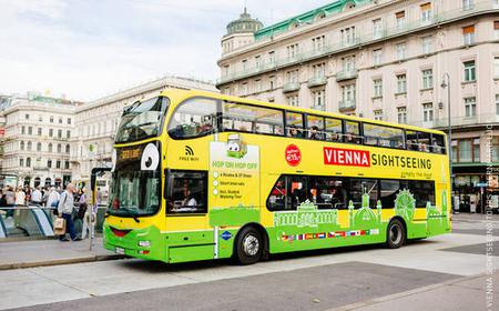 Vienna: Bus Ticket with Boat Cruise and Carriage Ride