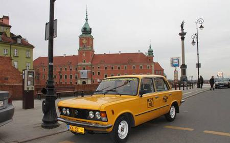Warsaw: Must-Sees Private Tour in Retro Fiat
