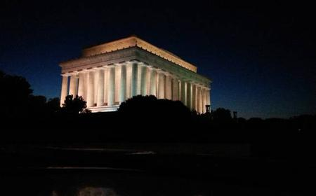 Washington DC Monuments at Night Electric Vehicle Tour
